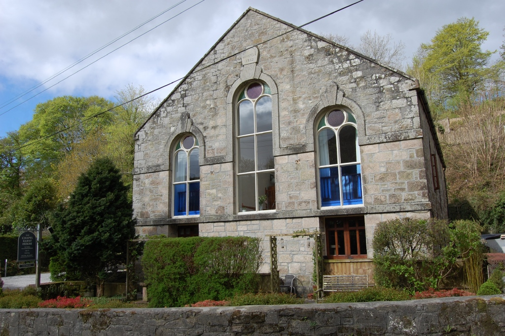 FREEHOLD GUEST HOUSE IN CONVERTED 19TH CENTURY CHAPEL – ST AUSTELL, CORNWALL