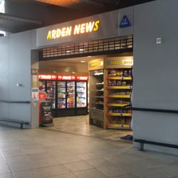 NEWSAGENTS – Bus Station, Manchester.