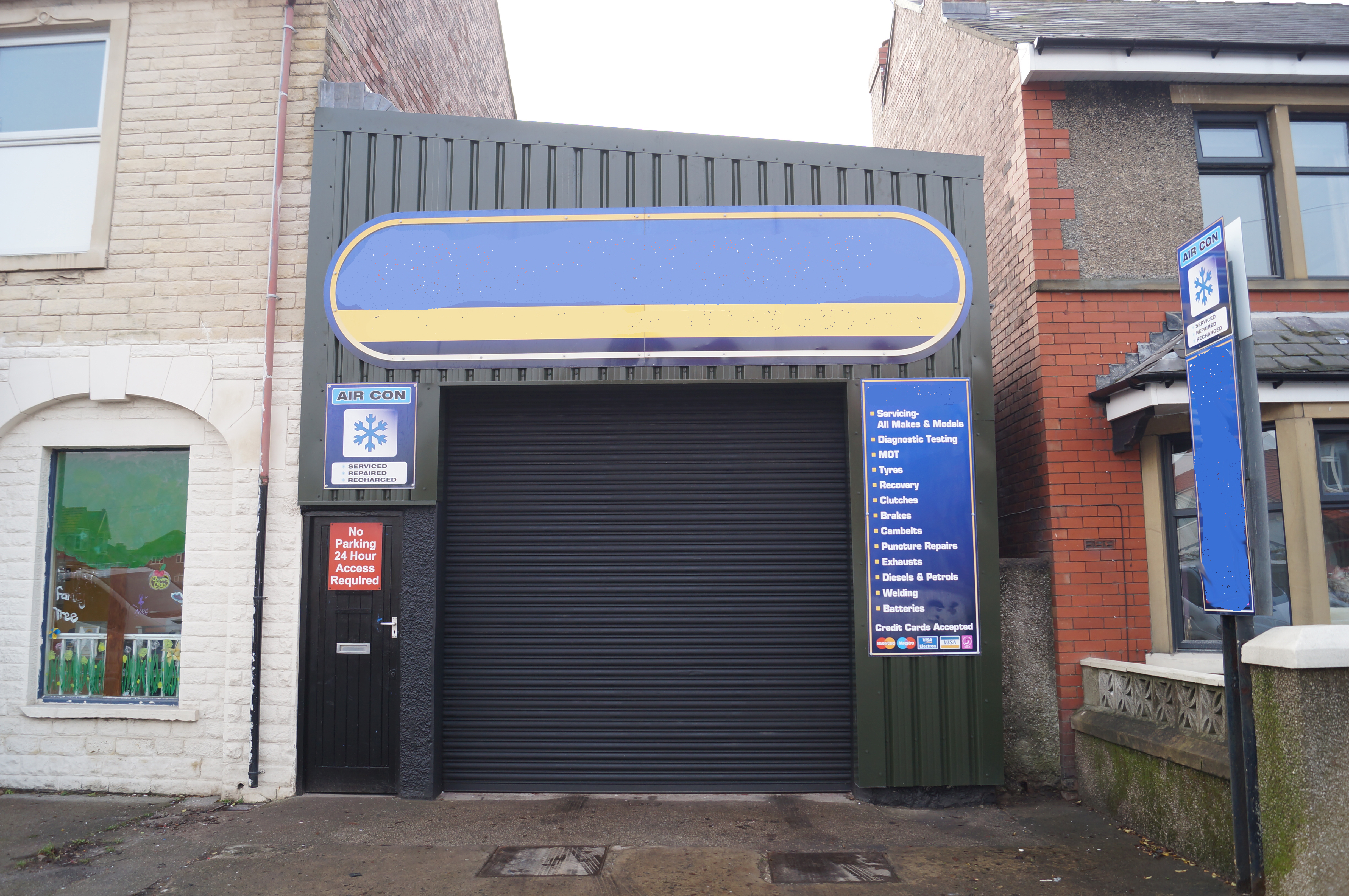 SERVICE & REPAIR GARAGE – Morecambe