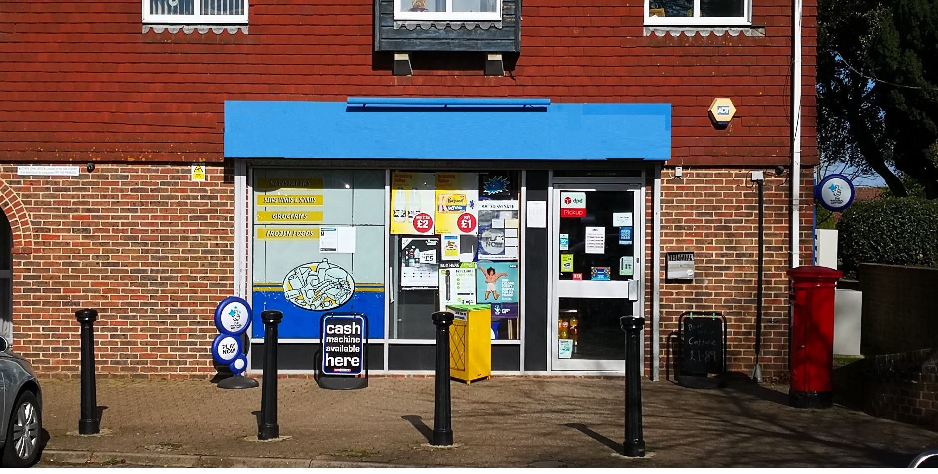 Exceptional and completely refurbished convenience store/newsagents/off-licence in West Malling, Kent.